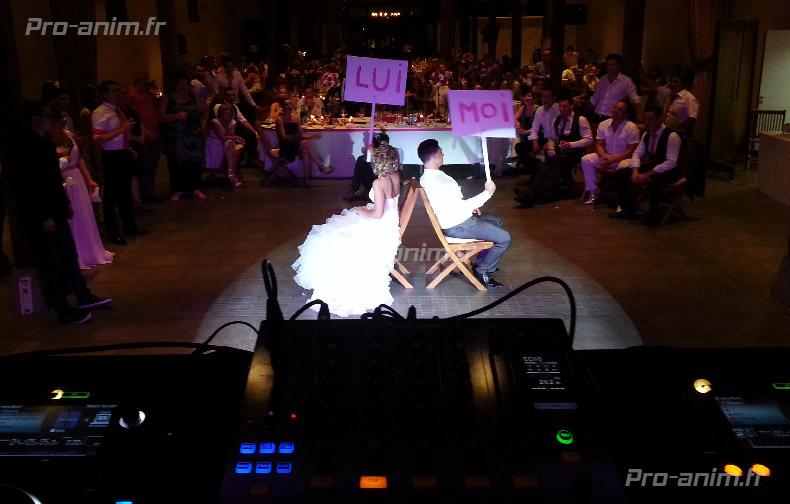 Animation de mariage à lyon avec pro-anim