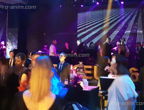 Disc jockey professionnel – Soirée d'entreprise 400 invités