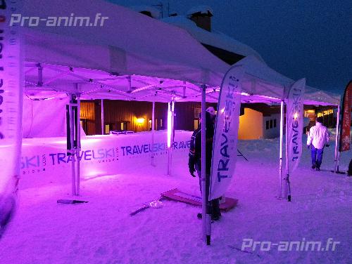 elcairage piste de ski pro-anim
